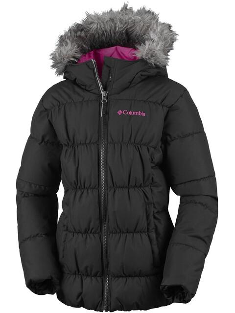 Columbia Gyroslope Jacket Youths Black/Cactus Pink